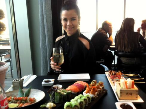 Sticks'n'sushi på Tivoli Hotel