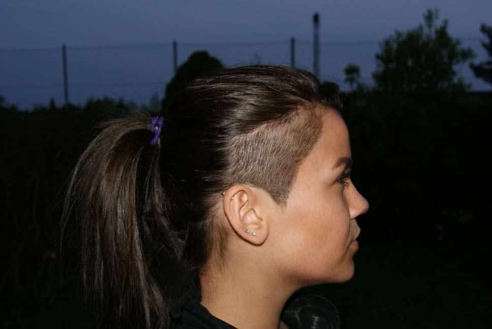 frisure med undercut