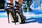 High heels, stud, stiletter, nitter