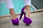 Lilla, purple pumps