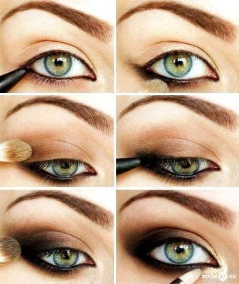 eyeshadow, how to