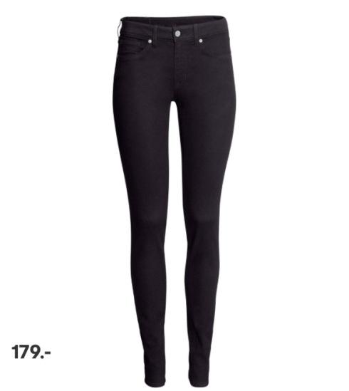 Stretch bukser, trousers, H&M, slim fit