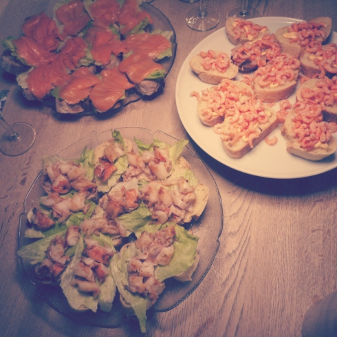 Forret, appetizers