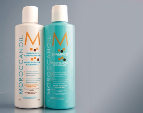 Shampoo, balsam Moroccanoi