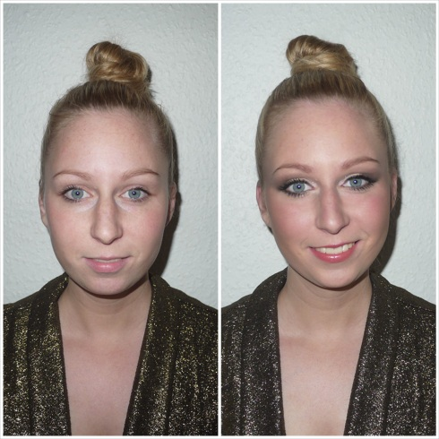 maya, make-over, transformation, forandring, før efter, before after, party, fest, make-up