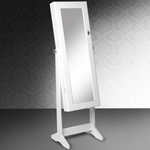 Smykkeskab med spejl, jellewry storage with mirror