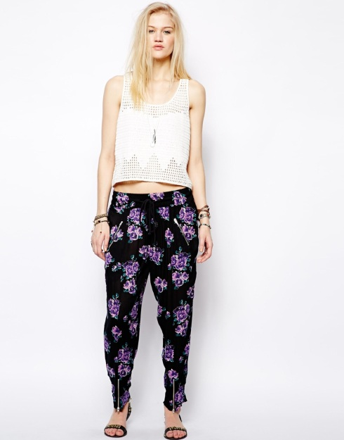 Somedays Lovin Ladyland Floral Print Trousers