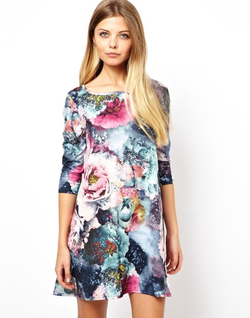 Vero Moda 3_4 Spring Floral Swing Dress