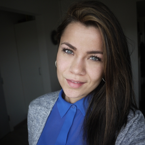 Frisørskolen, resultat, striber, toningsfarve, anmeldselse, hightlights brunette, hair, hår